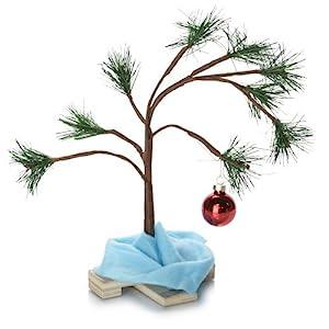 "Charlie Brown 14"" Christmas Tree With Blanket 1"