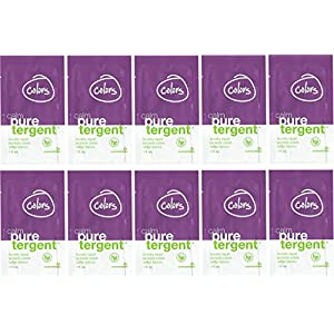 Puretergent - Calm Laundry Liquid with Lavender, Colors Formula (1oz Travel Size), Pack of 10