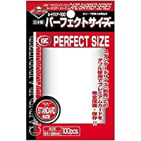 KMC - KMC 100 pochettes Card Barrier Perfect Size Soft Sleeves
