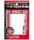 Akashiya Perfect Barrier Card Sleeves (100 Piece), Clear, 64 x 89mm