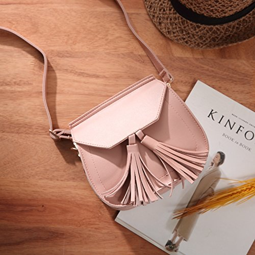 Moda Solo Bolsas Black rosa Bag Simple Mini Hombro la WXIN Mano Solo pequeñas PXEdHEnq