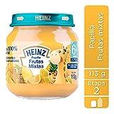 Heinz Papilla para Beb?, Frutas Mixtas, 113 gramos, paquete de 12