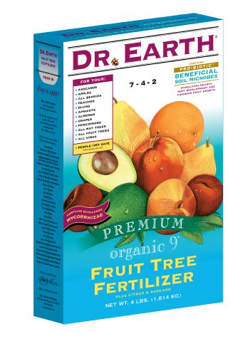 Dr. Earth 735 Citrus & Fruit Fertilizer, 25-Pound - Fruit Tree Fertilizers