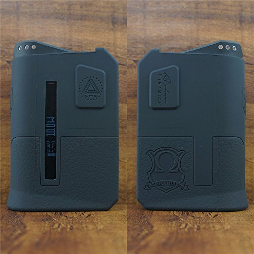 ModShield for Limitless Arms Race 200W TC Silicone Case ByJojo Skin Cover Sleeve Wrap Shield (Black)