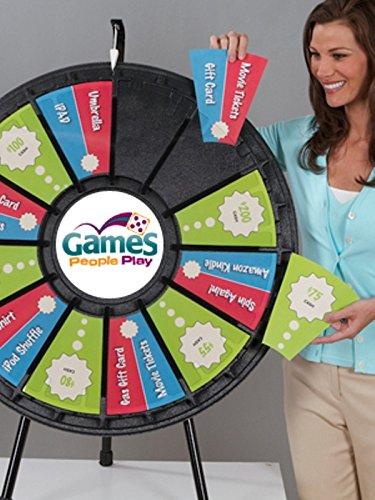 Marketing Holders 12-24 Slot Adaptable Table Top Prize Wheel 63005
