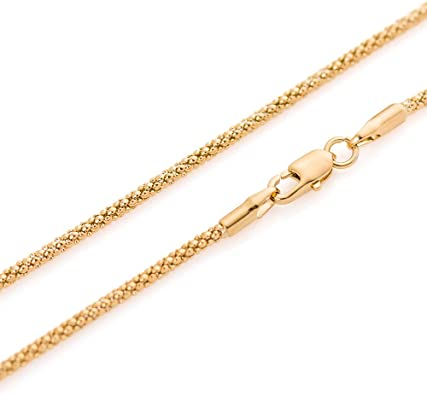 90 65 25 55 95 100cm 85 2mm thick 18K gold plated on solid sterling silver 925 Italian TRACE link chain necklace bracelet anklet jewelry 60 30 70 35 50 40 20 75 80 45 15