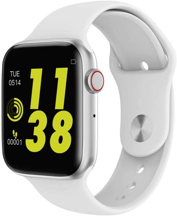 HWTP Reloj Inteligente para Hombres con frecuencia cardíaca iwo 9 ...