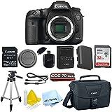 Canon EOS 7D Mark II Digital SLR Camera (Body Only)+ 32GB SD Memory Card + W-E1 Wi-Fi Card + Accessory Bundle