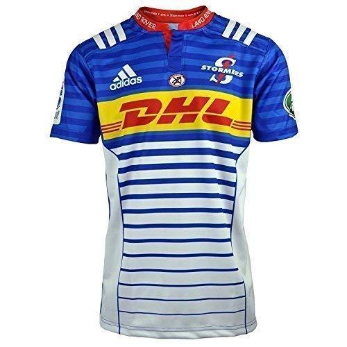 adidas Stormers Rugby Union 2015 Hombre Camiseta 1ª Equipación Camiseta 4XL, 5XL - Azul,