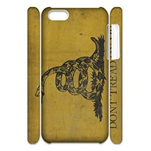 MMZ DIY PHONE CASEDon't Tread On Me 3D-Printed ZLB521380 Customized 3D Phone Case for ipod touch 5
