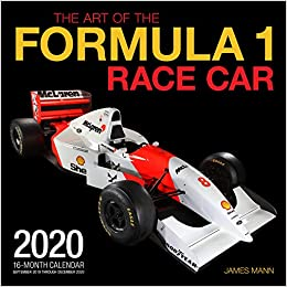 Formula 1 Race Calendar 2020 Amazon.com: The Art of the Formula 1 Race Car 2020: 16 Month