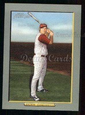 2005 Topps Turkey Red # 42 Adam Dunn Cincinnati Reds (Baseball Card) Dean's Cards 8 - NM/MT Reds
