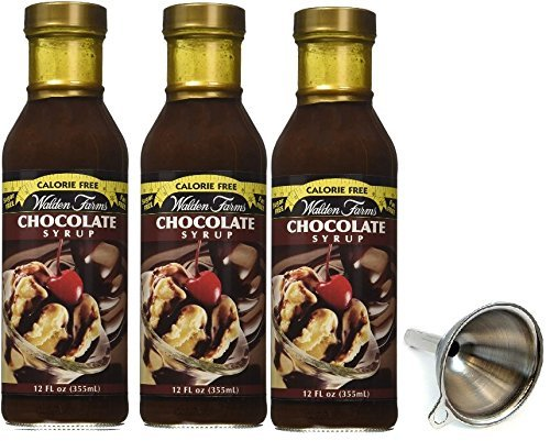 Walden Farms, Chocolate Syrup Calorie-Free 3 Pack (Chocolate)
