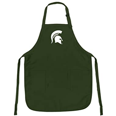 Broad Bay Michigan State Apron for Barbecue Grilling Kitchen Gift for HIM or Her