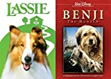 Family Dog Collection Benji & Lassie DVD 2-Movie Double Feature Bundle