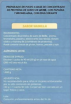 Just Podium Whey Protenium Sabor Vainilla - 1800 gr: Amazon.es: Salud y cuidado personal
