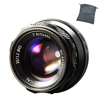 Image of 7artisans 35mm F1.2 Manual Focus Lens APS-C Fit for Compact Mirrorless Cameras Fuji X-A1 X-A10 X-A2 X-A3 A-AT X-M1 XM2 X-T1 X-T10 X-T2 X-T20 X-Pro1 X-Pro2 X-E1 X-E2 E-E2s X-E3 Accessory Kits
