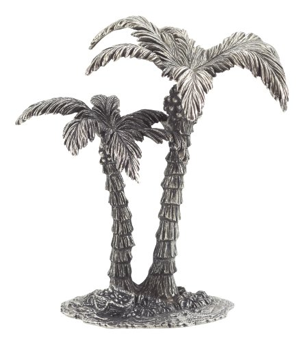 Pewter Port Danforth - Palm Tree - Pewter Nativity Figurine By W.T. Wilson - Handcrafted - 4 5/8 Inches Tall (Pewter Nativity)