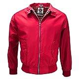 Mens Classic Harrington Tartan lined Jacket Coat Mod Retro by WWK / WorkWear King