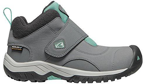 Keen Kootenay II WP Hiking Boot Steel Grey/Wasabi 4 M US - Wasabi 4