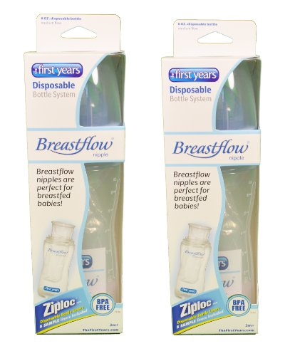 First Years Breastflow Bottles Disposable