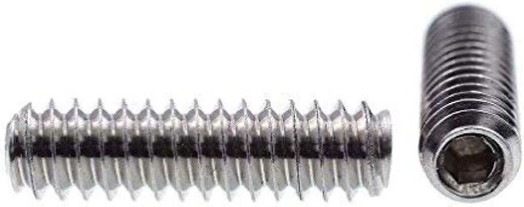 25-Pack Grade 18-8 Stainless Steel Prime-Line 9182397 Socket Set Screws #6-32 X 1//2 in