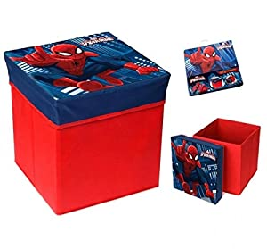 Awesome Spiderman Storage Ottoman