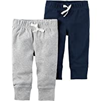 Carter's Baby Boys' 2-Pack Pants 3 Months