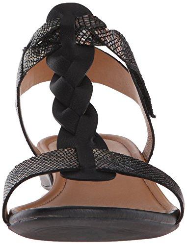 EU Footwear Sandal Black 40 Metallic Black II M US Womens 9 Multi 9 Bouillon ECCO Knot 5 Wedge 7gqwHxBBF