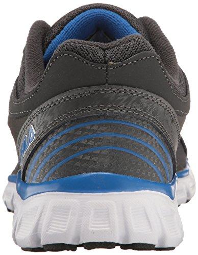 Fila Men's Memory Sendoff 2 Cross-Trainer Shoe, Dark Shadow/Prince Blue/Metallic Silver, 11.5 M US