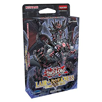 Yu Gi Oh! KONLOD Lair of Darkness Structure Deck Game
