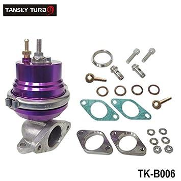 tansky - morado ajustable 38 mm externo Turbo V-Band V banda wastegate Turbocharge Brida tk-b006: Amazon.es: Coche y moto