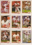Tampa Bay Buccaneers 1991 Upper Deck Football Master Team Set with High Numbers***Premier Issue*** (Vinny Testeverde) (Gary Anderson) (Mark Carrier) (Broderick Thomas) (Reggie Cobb) and More