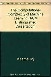 michael machine learning book