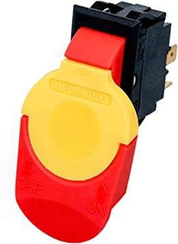 Electrical Motor Safety On Off Paddle Switch 110V 16 Amp Router Power Tool New