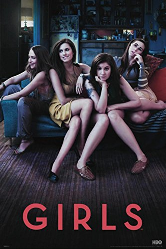 Girls Hbo Poster with Hanger