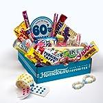 Hometown Favorites 1960's Nostalgic Candy Gift Box, Retro 60's Candy. from Hometown Favorites