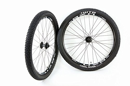 27.5 in / 650b ATB Disc Brake Wheel Set Weinmann U28 WTB Trail Boss 2.4 Tires and Tubes by Trail Boss