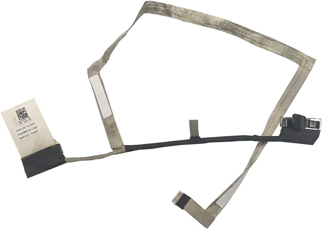 Z-one Cable Replacement for Dell Latitude E5470 Series LCD Video Touchscreen Display Cable DC02C00B3100 2HP9 02HP9