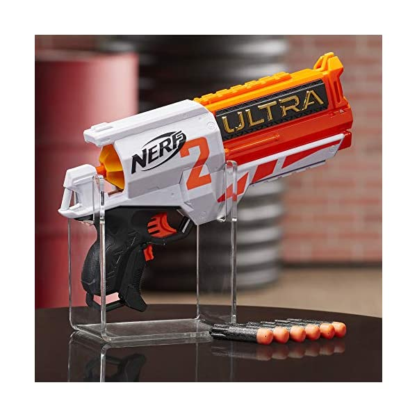 NERF-Ultra-Two-Motorized Blaster Fast Back Reloading Includes 6 Ultra Darts Compatible Only Ultra Darts