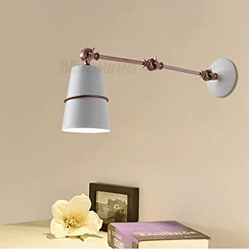 Amazon.com: Mpotow Postmodern Vintage Lámpara de Pared ...