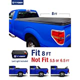 Tyger Auto TG-BC3F1021 TRI-FOLD Truck Bed Tonneau Cover 2009-2014 Ford F-150 (Excl. Raptor Series) | Styleside 8' Bed | For models with Utility Track System