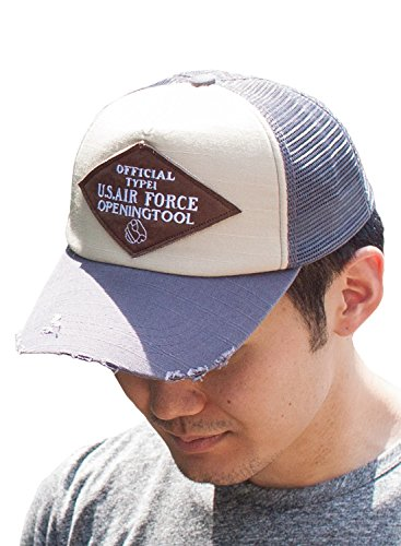 スペースに向けて出発不良品(オリエントハット)Orient Hat コットン ロゴ キャップ 帽子 ダメージ メンズ カジュアル CAP ベースボール メッシュ 野球帽 yt516