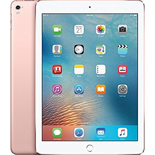 Apple iPad Pro Tablet (128GB, Wi-Fi, 9.7in) Rose (Renewed) (Best Price Ipad 128gb)