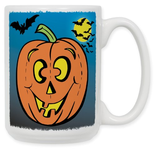 Halloween Bats 15 Oz. Ceramic Coffee Mug -