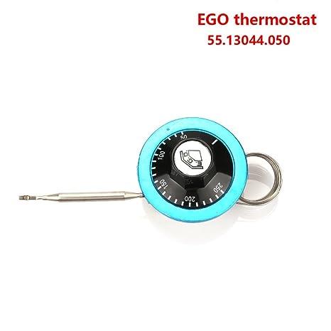 50 – 250 Celsius Grado Alemania termostato Ego 55.13044.050 para freidora, 2 Meter