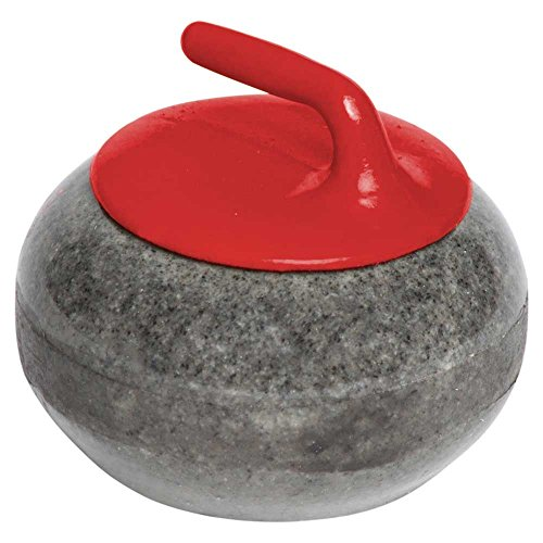 Miniature Granite Curling Rock: Red
