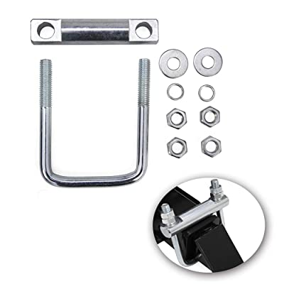 """Hydraker 2"""" Heavy Duty Cross Hitch Tightener Clamp-Anti Rattle Hitch Coupling Clamp: Automotive"""
