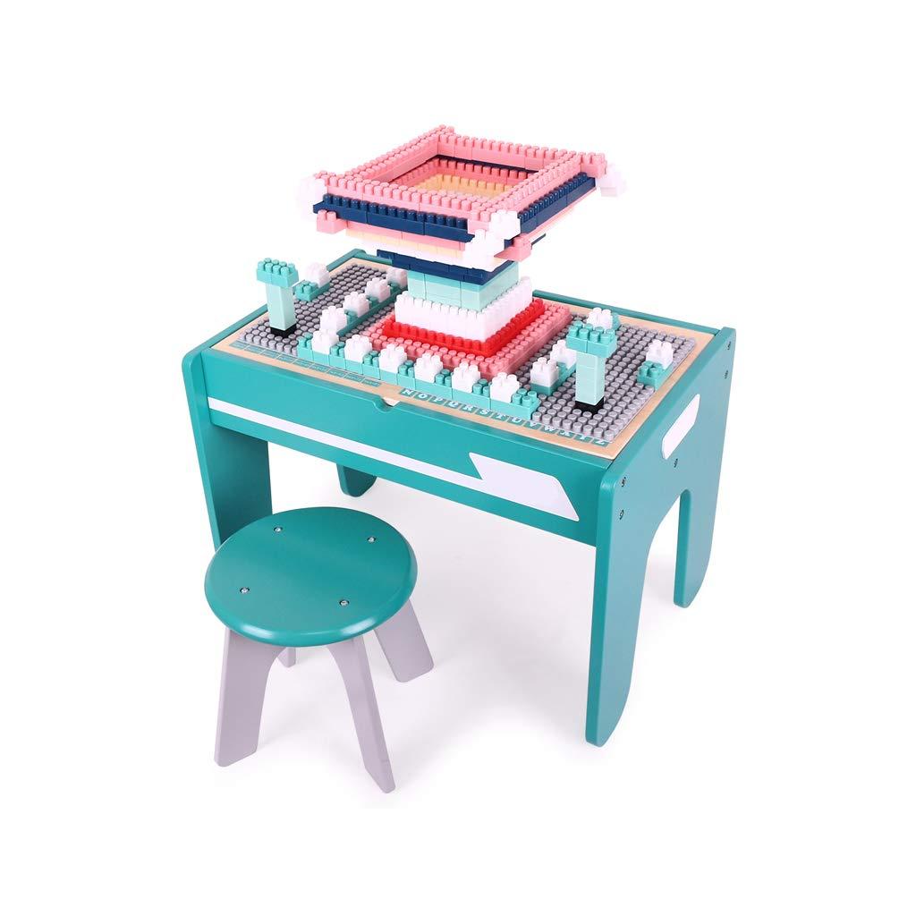 【期間限定】 LIUFS-TOY さいず 子供用木製テーブル3-6歳パズルビルディングブロック壁組み立ておもちゃ女の子男の子多機能 (サイズ さいず : S : s) S S s B07QSFCC18, 西有家町:0988e93a --- vezam.lt