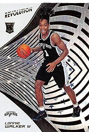 2018-19 Panini Revolution Astro Basketball  125 Lonnie Walker IV San  Antonio Spurs Rookie f9944b447